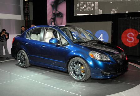 Suzuki Sx4 Sedan. 2008 Suzuki SX4 sedan