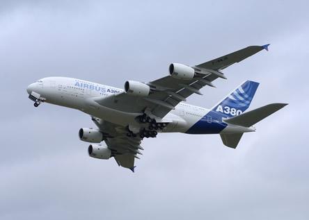 A380 Media Flight