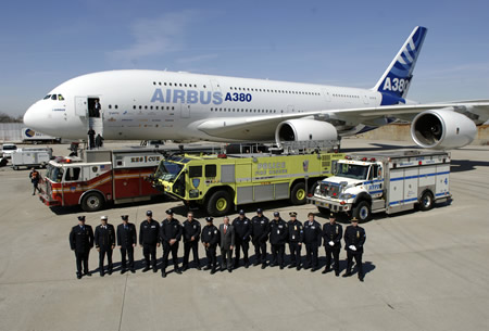 AIRBUS NYC Fire Police
