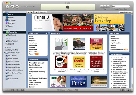 Apple ITunes U