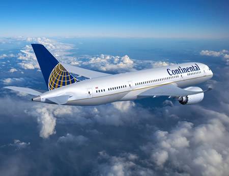 CONTINENTAL AIRLINES 787-9