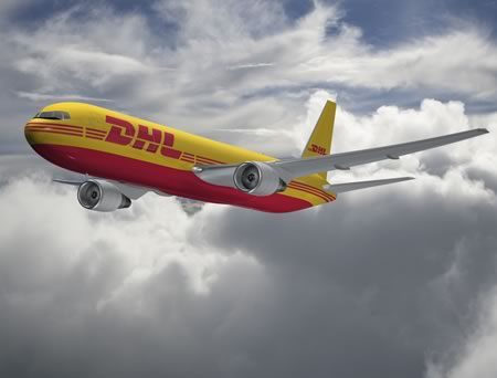 DHL Boeing