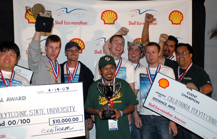 Event Champion SHELL ECO MARATHON