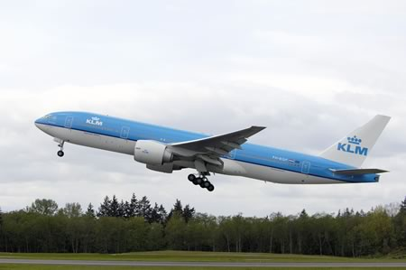 KLM Boeing