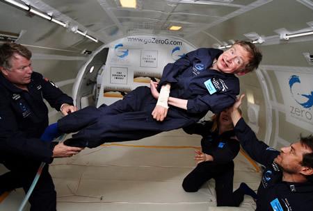 Professor Stephen Zero Gravity