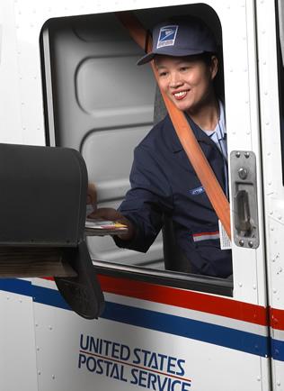 USPS postalworker