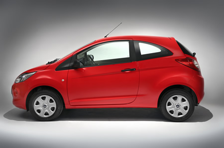 The New Ka Has Striking Interior And Exterior Design According To Ford It Is Setting A Standard For Affordable Small Cars