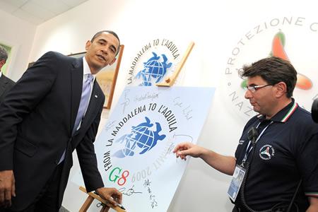 Obama USA G8