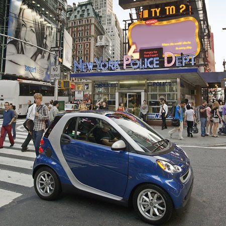 Smart fortwo NYC