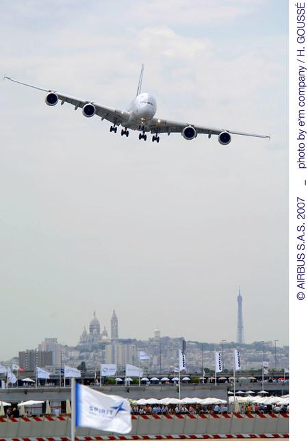 Airbus 2007 Paris AirShow