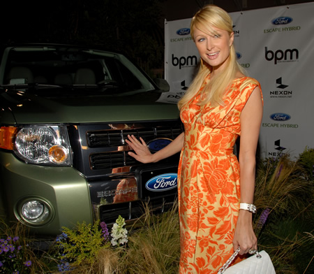 BPM Paris Hilton Ford