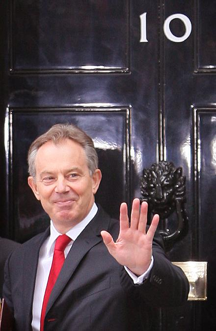 Tony Blair Resigns