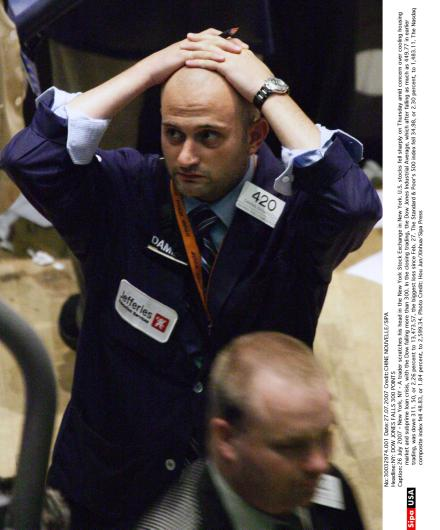 Credit Worries Wall Street
