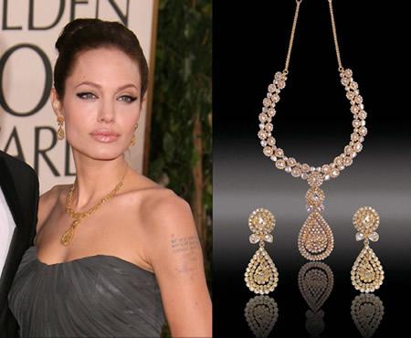 Angelina Jolie DORAZIO JEWELERY