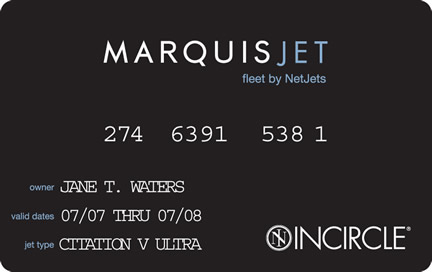 MARQUIS JET CARD