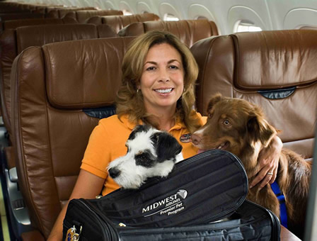 MIDWEST AIRLINES PETS