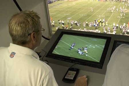 HARRIS CORPORATION INSTANT REPLAY NFL