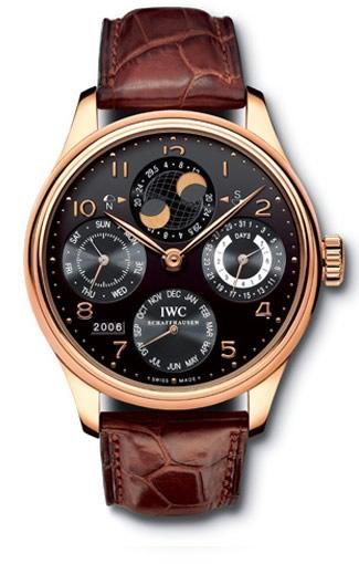 IWC Potuguese Perpetual Calendar Watch