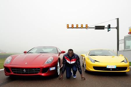 Usain Bolt Ferrari