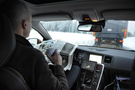 Platooning Car Driving