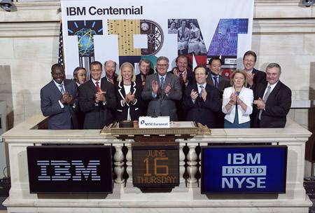 IBM NYSE