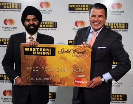 MasterCard, Western Union