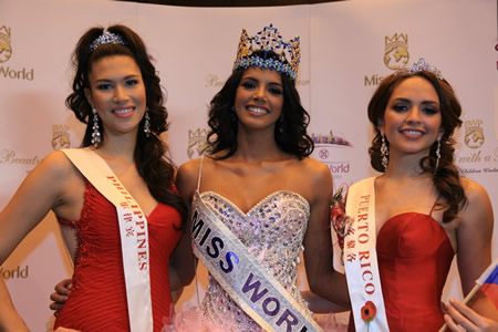 Miss Venezuela, Ivian Sarcos, Miss World 2011