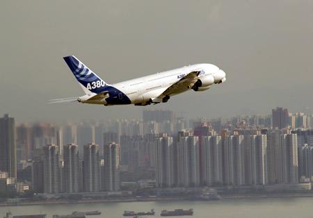 A380 Airbus Hong Kong