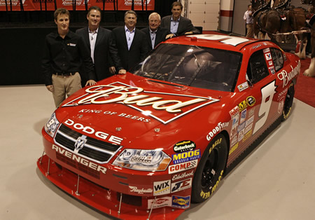 ANHEUSER BUSCH NASCAR