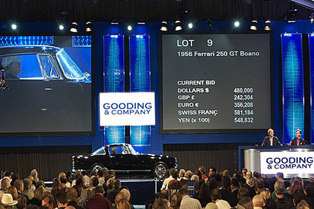 Gooding Campany Auction