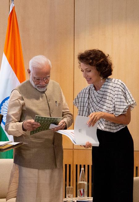 UNESCO, Modi, India