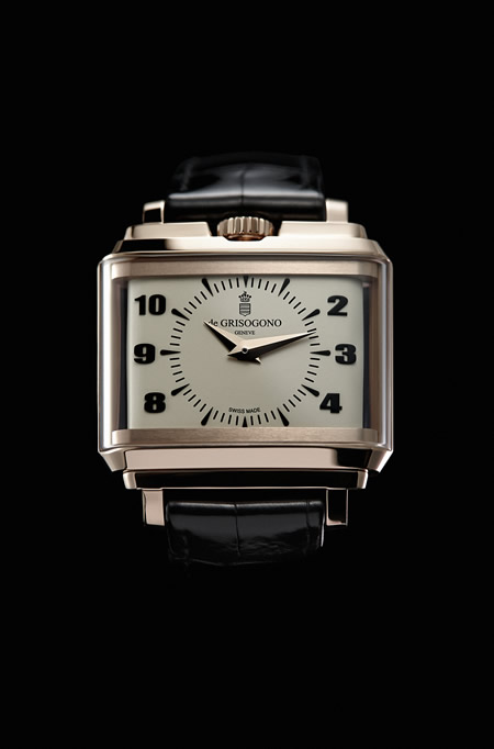 de GRISOGONO's NEW RETRO Mens Watch