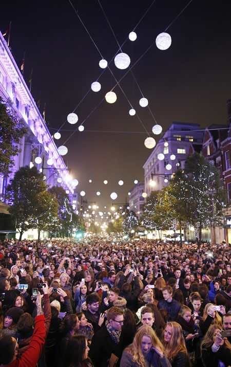 London Oxford Street Christmas Lights