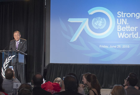 United Nations, San Francisco, 70th Anniversary