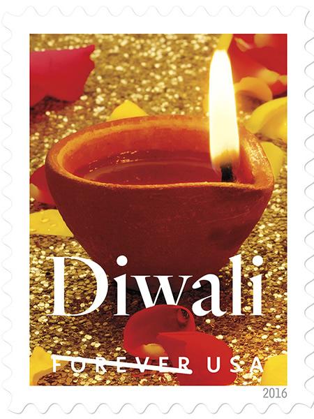 Diwali Stamp USA