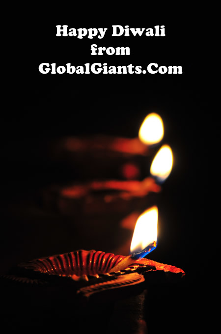 Happy Diwali from GlobalGiants.Com