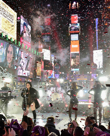 New York Times Square New Year