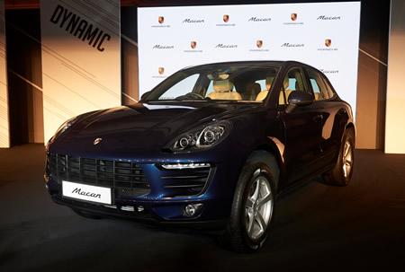 Porsche Mecan India