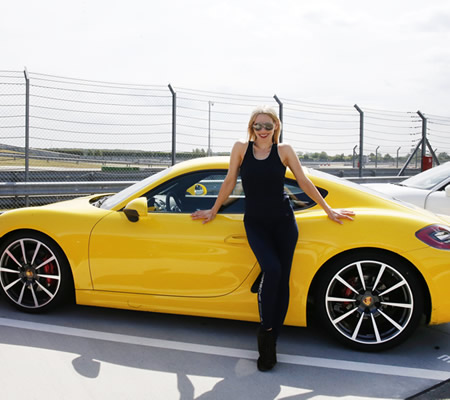 Porsche Cars Women Germany