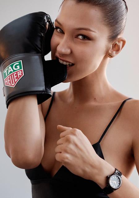 TAG Heuer, Bella Hadid
