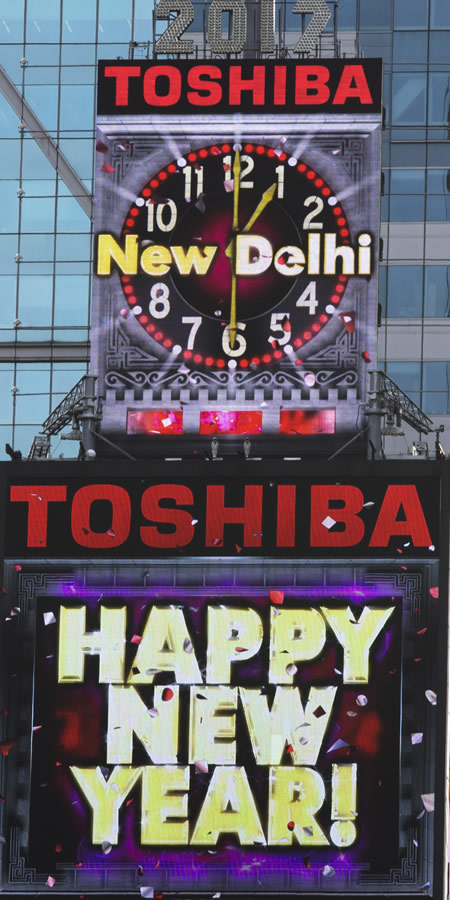 Toshiba New Delhi New Year