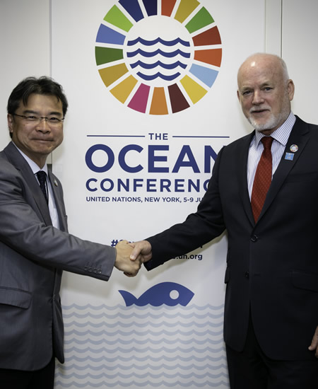 World Oceans Day at UN