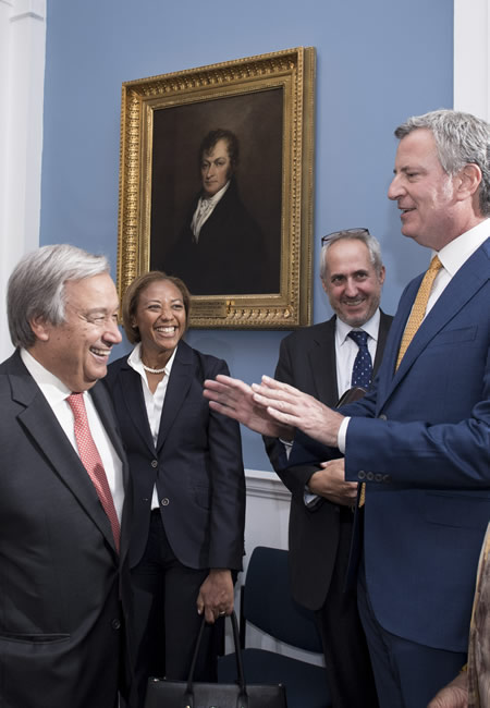 New York City Mayor, United Nations