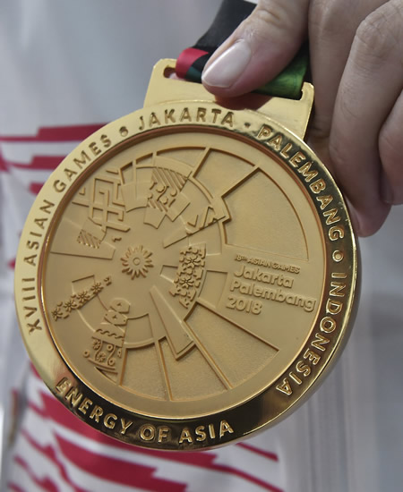Asian Games Gold Medal