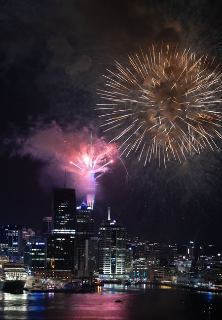 New Year Eve, Auckland