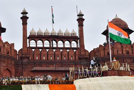Modi, Independence Day, India