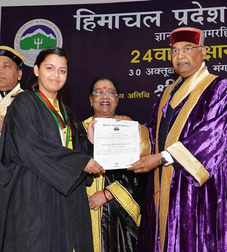 Himachal University, India