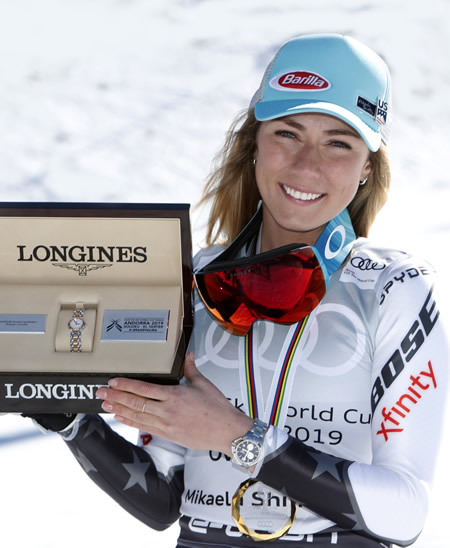 Longines, Skiing