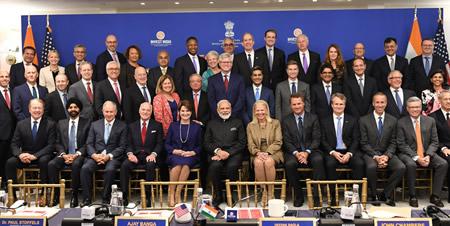 Modi, American CEOs