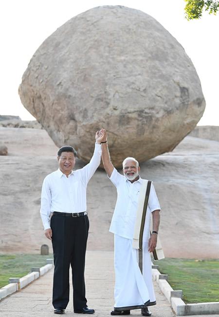 Modi, India, China